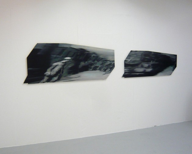 Lumi?re Diptych I (Installation shot)